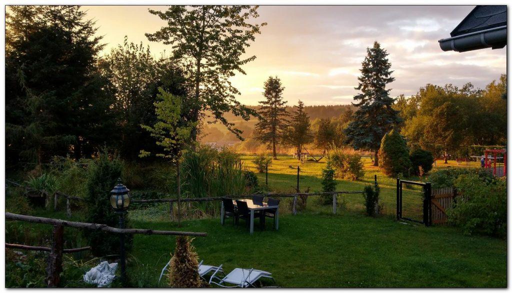 Terrasse Abendsonne